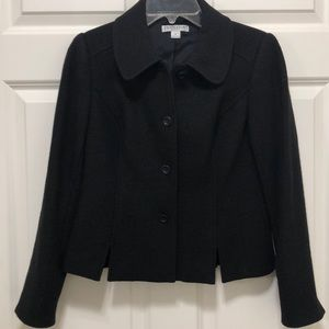 Pendleton Black Merino Wool Blazer XS